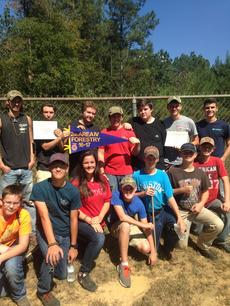 Forestry Team Wins Second